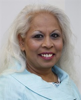 Anjna Patel - recognised in the Queen's Honours List