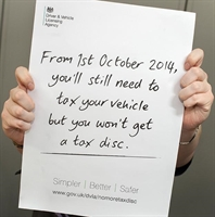 Tax disc changes