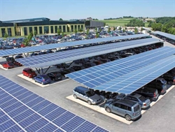 New solar car-park guide