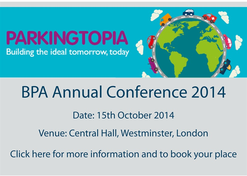 Annual Conference 2014 homepage advert