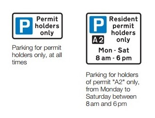 permit holders sign